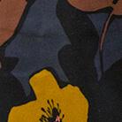fiori grossi senape