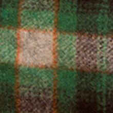 lana scozzese verde