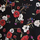 nero con fiori rossi e bianchi