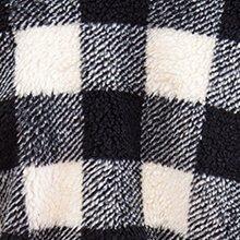 pelo scacchi bianco e nero